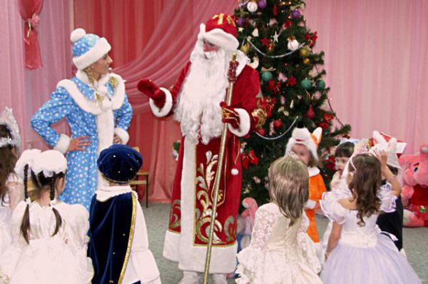 Дед Мороз в детский сад или школу 2016-2017